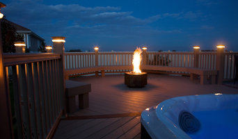 Deck with Lights