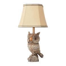 Woodland Owl Table Lamp