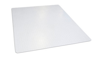 "Dimex Clear Rectangle Office Chair Mat For Hard Floors, 46""x60"""