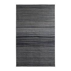 Prismatic Horizon Area Rug, Gray/Green, 8x10