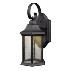 Hardware House LED Lantern, Textured Black