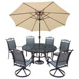 9-Pc Traditional Outdoor Dining Set