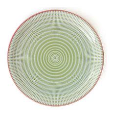 "Sendan Green 9.75"" Plate"