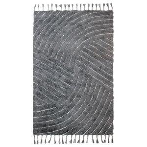 Eclectic Auckland Rug, Grey, 120x170 Cm