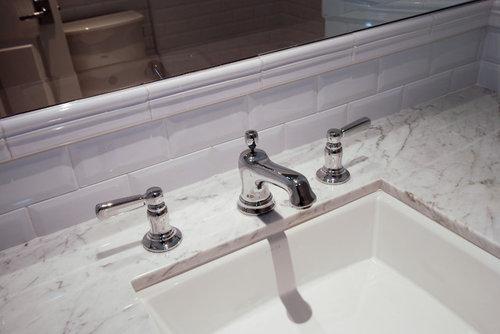 7 Faucet Finishes For Fabulous Bathrooms: Kohler Bancroft Faucets