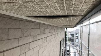 軒天井の張り替え工事