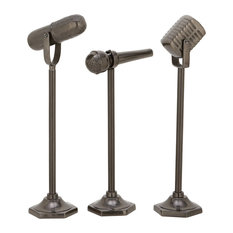 """GwG Outlet Aluminium Microphone 3 Assorted 17"""", 20"""", 21"""""""