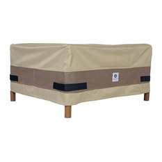 """Duck Covers Elegant 32"""" Square Patio Ottoman/Side Table Cover"""