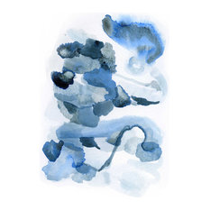 """Large Art Print, Abstract Watercolor Painting, 11""""x14"""""""
