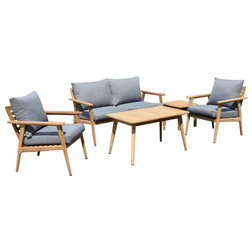 Midcentury Outdoor Lounge Sets by International Home Miami Corp