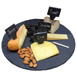 Contemporary Cheese Boards And Platters by Natico