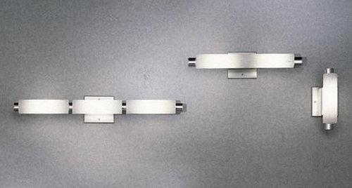 modern bathroom lighting illuminating experiences ledra. illuminating experiences 2 light halogen aluminum bath bar bathroom vanity lighting modern ledra
