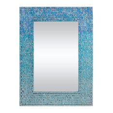 Renwil - Renwil Catarina Mirror in Mosaic - Wall Mirrors