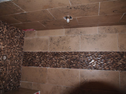 Is There Any Way The Sealer Can Be Removed My Contractor Says Shower Tiles Are Usually Given Enhancer This True