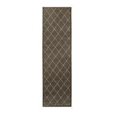 """Oriental Weavers Ellerson 090N4 Lattice Area Rug, Brown/Ivory, 9'10""""x12'10"""""""