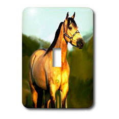 Quarter Horse Light Switch Cover, Light Swtich Single