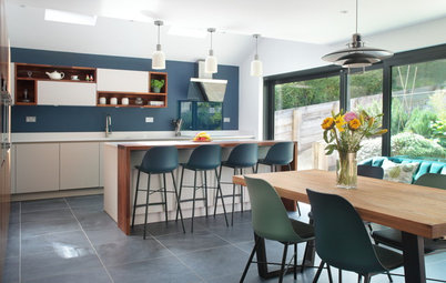 Kitchen Tour: A Sleek Yet Characterful Social Hub