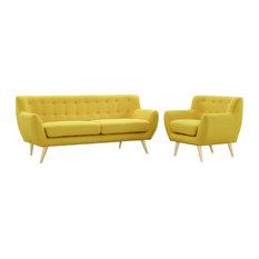 Sunny Remark 2 Piece Living Room Set