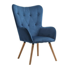 Willow Chair, Midnight Blue