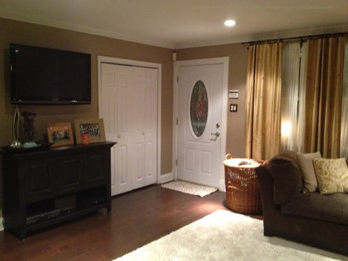 Help How Do I Match Curtains In This Open Floor Plan