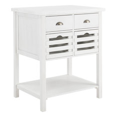 Sheldrake Kitchen Island - White