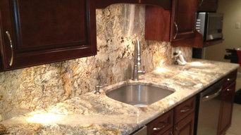 Neptuno Gold River granite