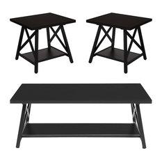 Flash Furniture Hancock Park 3-Piece Occasional Table Set