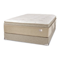 Chattam & Wells - Chattam & Wells Eastern King Franklin Latex Euro Top Mattress & Box - Mattresses