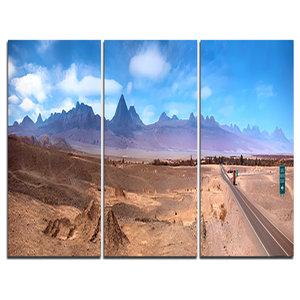 """San Pedro de Atacama Chile Panorama"" Canvas Print, 3 Panels, 36""x28"""
