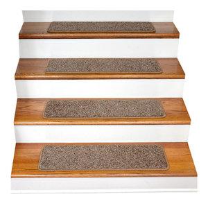 Non Slip Tape Free Carpet Stair Treads, Set Of 15 ...