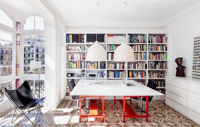 Casas Houzz: Un piso modernista en el corazón de Barcelona