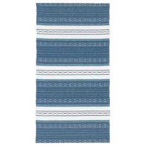 Astor Vinyl Floor Cloth, Blue, 150x240 cm