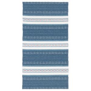 Astor Vinyl Floor Cloth, Blue, 70x120 cm