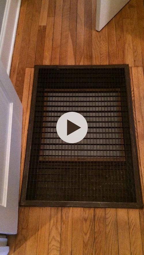 Large floor vent