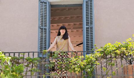 Barcelona Houzz Tour: An Australian Florist's Pastel Paradise