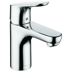 1-Hole Lavatory Faucet With Single Lever Handle, Polished Chrome