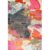 """nuLOOM - Vintage Abstract Paisley Rug, Pink, 5'3""""x7'7"""" - Add a statement piece to your home with this Vintage Abstract Paisley Rug. Features Include: Style: Traditional, Vintage, Contemporary Material: 50% Polyester, 50% Polypropylene Weave: Machine Made Origin: Turkey"""