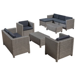 Best Contemporary Outdoor Lounge Sets by GDFStudio