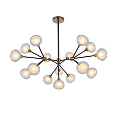"Pasargad Home Seraphina Pendant Light, Silver, 29""x24.6""x34.6""H"
