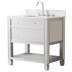 Transitional Bathroom Vanities And Sink Consoles by SEI
