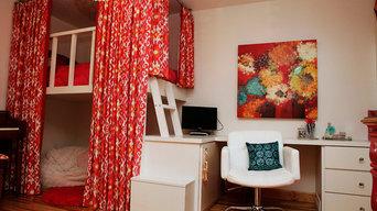 La Crosse Eclectic Redesign - Kids Bedroom