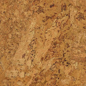 "20""x20"" Cork Luxury Vinyl Tile, Set of 6"