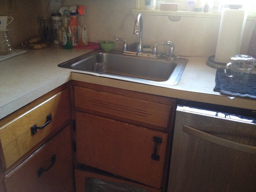 Can A Carpenter Modify A Blind Corner Cabinet To Hold A Sink