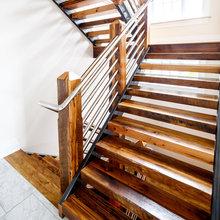 Custom Wood Stair Treads