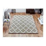 Arabesque Beige Rectangle Plain/Nearly Plain Rug 120x170cm