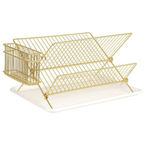 Gold Wire Dish Rack