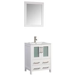 Contemporary Bathroom Vanities And Sink Consoles by Vanity Art LLC