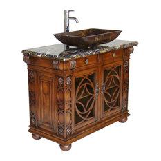 50 most popular bathroom vanities for vessel sinks for 2018   houzz Bathroom Vanity with Vessel Sink