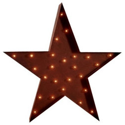 Cool Eclectic Home Decor Star Marquee Light