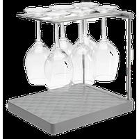 Kohler Wine Glass Drying Rack, Charcoal